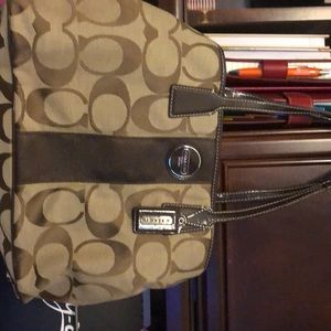 Coach large purse